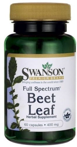 Beet Leaf Capsules Full Spectrum Tons of Benefits Carotenoids Antioxidants