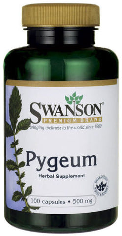 Pygeum (100 Capsules) 500 mg by Swanson Premium  / 1 Bottle / EXP 2018