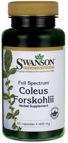 FORSKOLIN EXTRACT 100% PURE COLEUS FORSKOHLII Weight Loss 250mg 20% STANDARDIZED