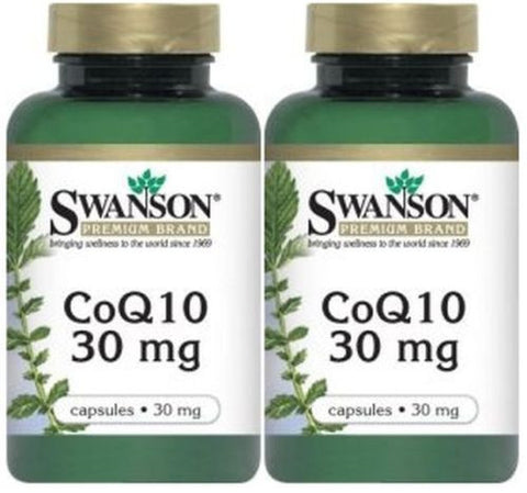 Co Q-10 2X60 Capsules Heart Health Cardiovascular Wellness Expiration Date 2018