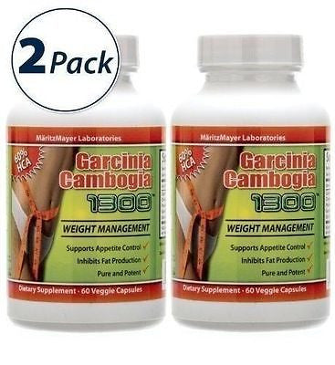 100% Pure Garcinia Cambogia Extract 60% HCA 1000mg Weight Loss STRONGEST FORMULA