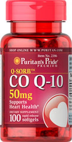 (100) COQ10 CO-Q10 QSORB HEART CARDIO BLOOD PRESSURE HEALTH SOFTGELS Q SORB