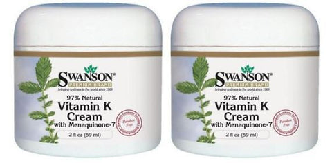 2 X High POTENT Vitamin K Cream Rosacea Capillary Thread SPIDER Varicose Veins
