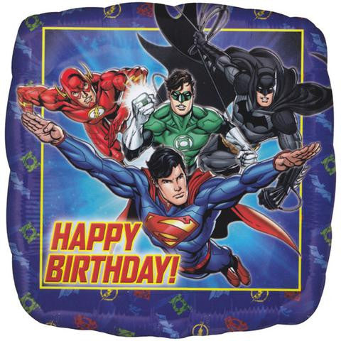 Justice League Bday