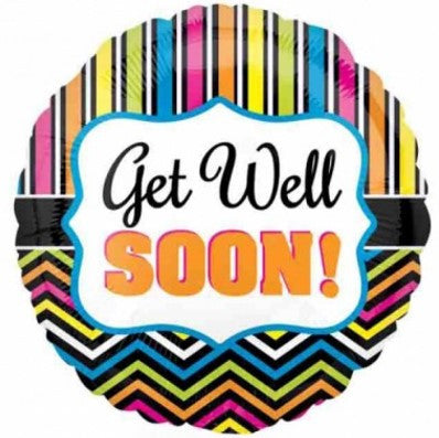 Get Well Stripe & Chevron