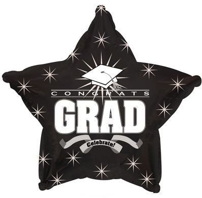 Congratulations Grad Black Star
