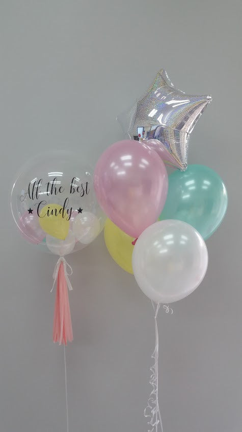 Customised Bubble Balloon Set A