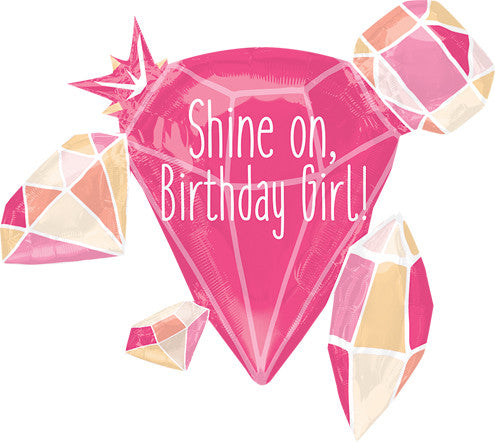 Birthday Shine On Girl