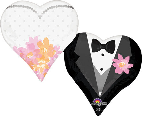 Wedding Couple Hearts