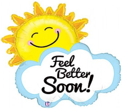 Feel Better Soon Sunshine