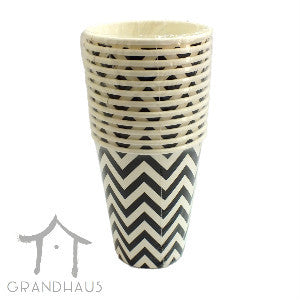 Black Chevron Cup