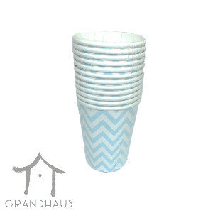 Blue Chevron Cup