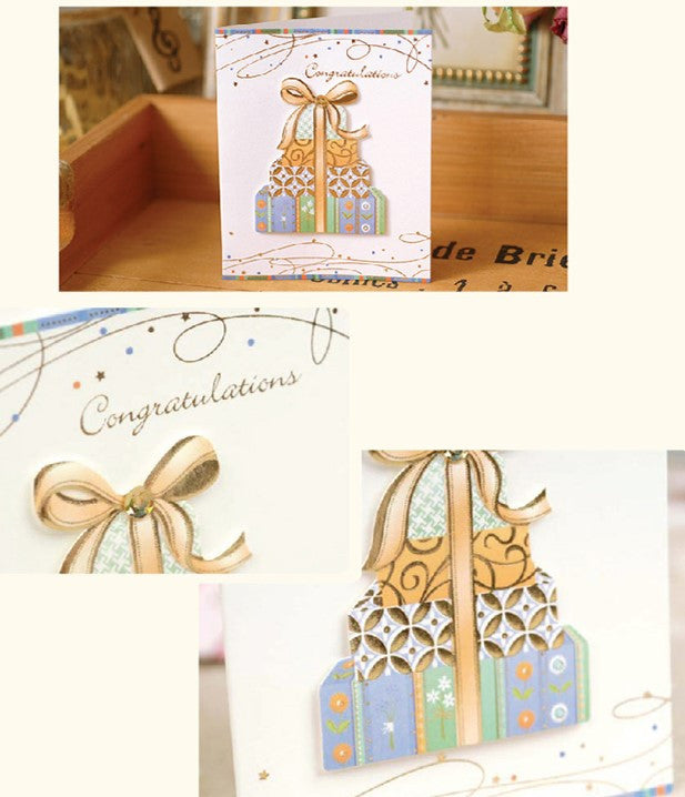 Mini Card - Congratulations 3D