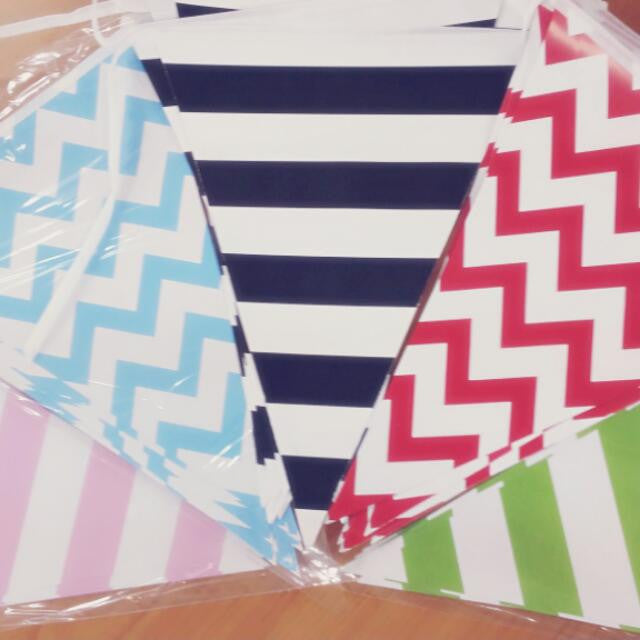 Pennant Paper Bunting