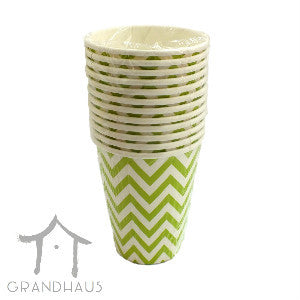 Green Chevron Cup