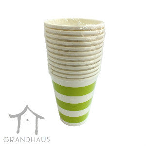 Green Stripes Cup