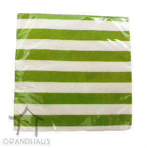 Green Stripes Serviette