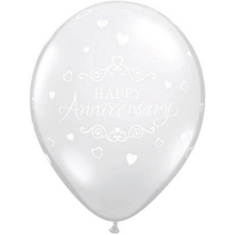 Printed Anniversary Classic Hearts