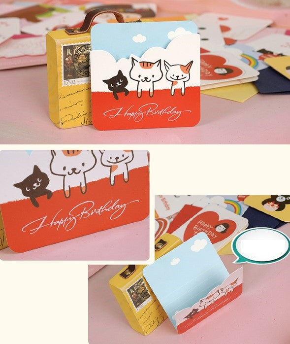 Mini Card - Happy Birthday (Catty)