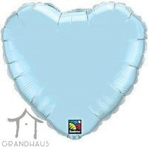 Heart Pearl Light Blue