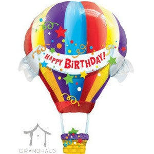 Happy Birthday Hot Air Balloon