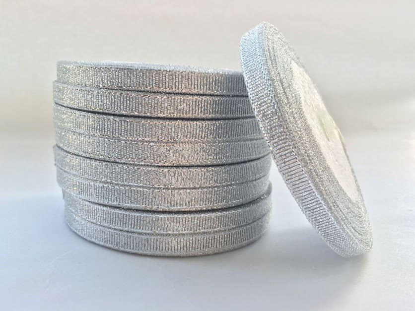Metallic Silver Ribbon
