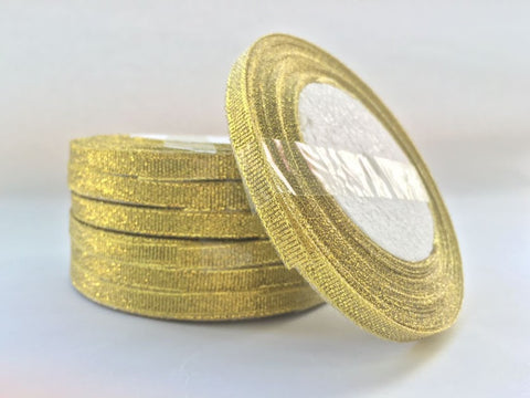 Metallic Gold Ribbon