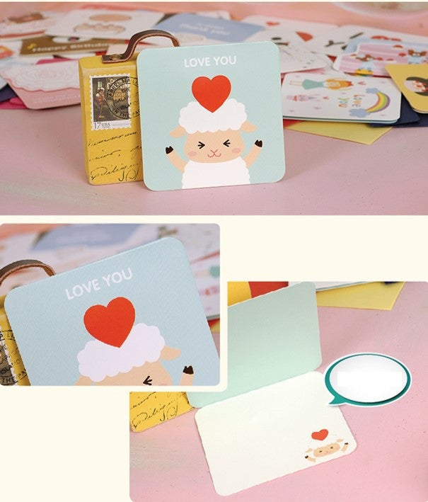 Mini Card - I Love You (Sheepy Love)