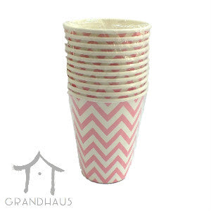 Pink Chevron Cup