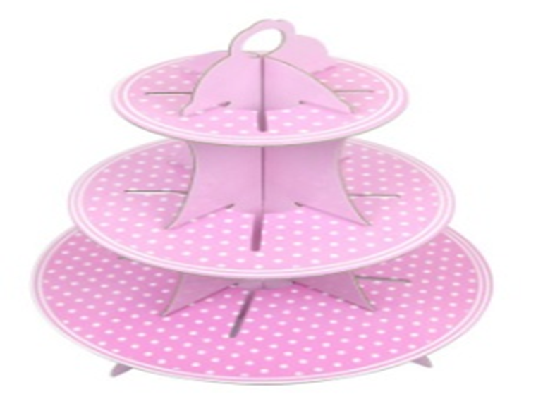 Cupcake Stand - Sweet Pink
