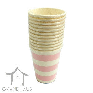 Pink Stripes Cup