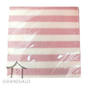 Pink Stripes Serviette