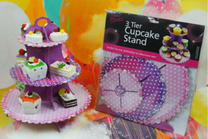 Cupcake Stand - Royal Floral
