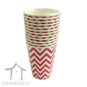 Red Chevron Cup