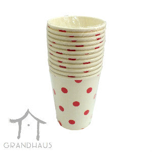 Red Polka Dots Cup