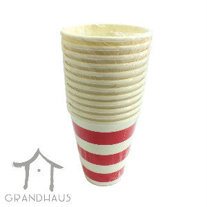 Red Stripes Cup