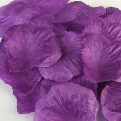 Dark Purple Silk Petal