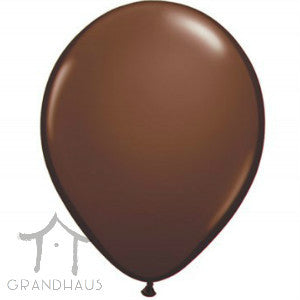 Round Solid Chocolate Brown