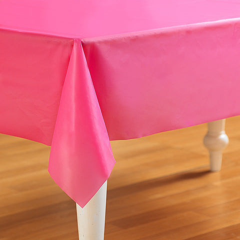 Bright Pink Tablecover