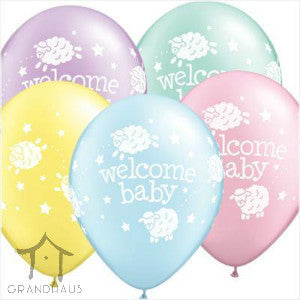 Printed Welcome Baby