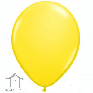 Round Solid Yellow