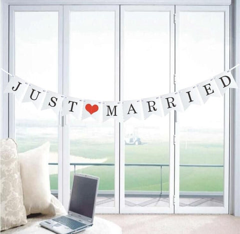 Just Married - White