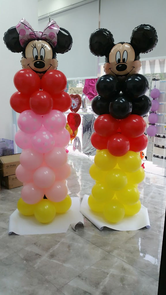 8-Tier Balloon Column Pair