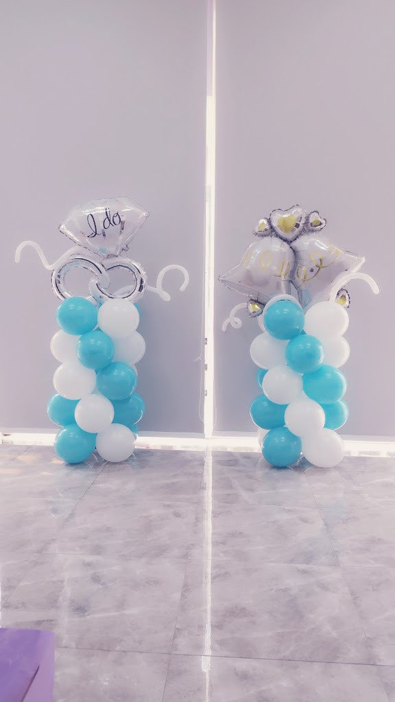5-Tier Balloon Column Pair