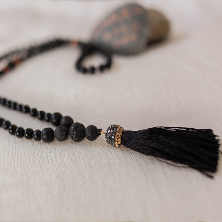 Mala Tassel Necklace