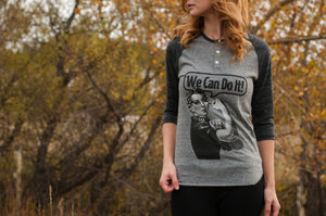 "Rosie ""We Can Do It"" Baseball Shirt"