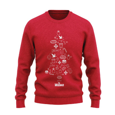 Wawa 2020 Holiday UGLY SWEATER