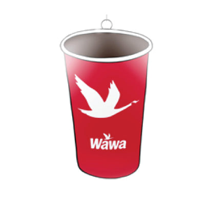 Wawa Red Coffee Cup Holiday Ornament