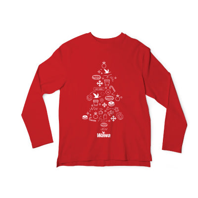 Wawa 2020 Holiday Long Sleeve Tee