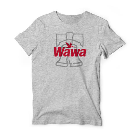 Wawa LIBERTY BELL Grey Soft Tshirt